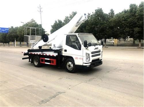 国六江铃17.5米蓝牌直臂高空作业车