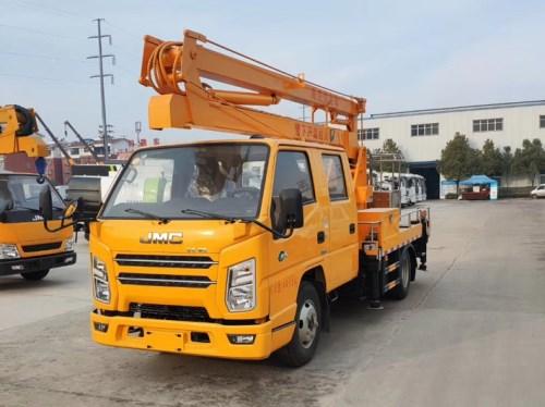 国六江铃双排12米高空作业车