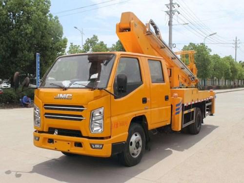 国六江铃双排17.5米直臂高空作业车