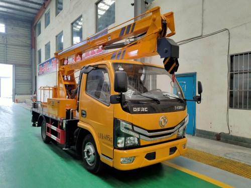 国六东风多利卡13.5米高空作业车