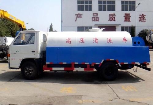江铃蓝牌小型高压清洗车