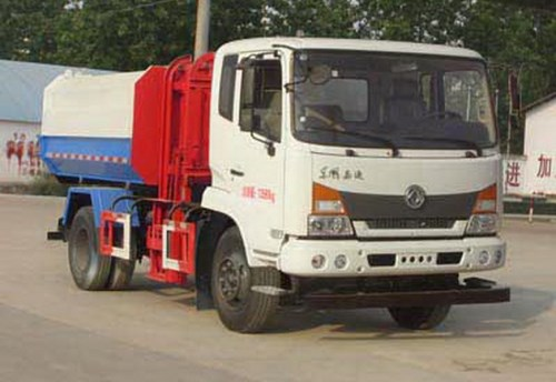 国五东风嘉运自装卸式垃圾车