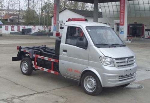 國五東風微卡拉臂式垃圾車(汽油)