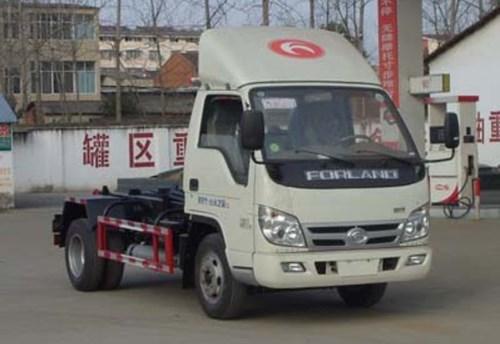 國五福田時代車廂可卸式垃圾車