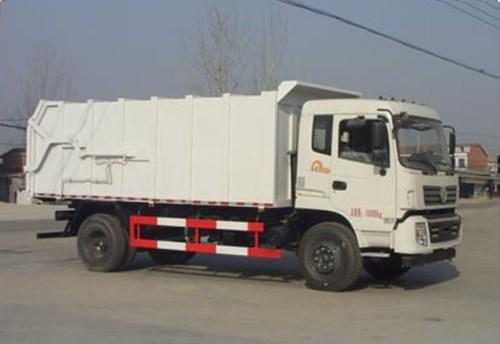 国五东风新款压缩对接式垃圾车