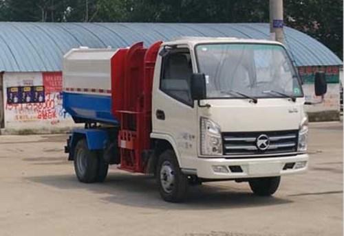 国五凯马5方自装卸式垃圾车