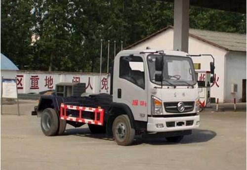 國五東風6方車廂可卸式垃圾車