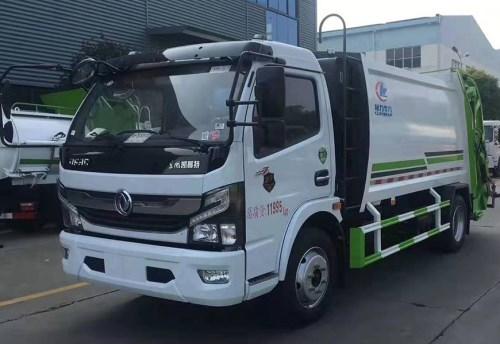 东风凯普特K7压缩垃圾车(国六)