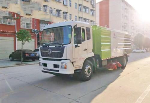 东风天锦12方扫路车 国六