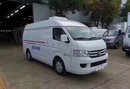 福田G7面包冷藏车 国六