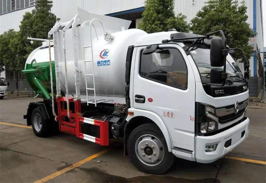 东风D7圆罐餐厨垃圾车