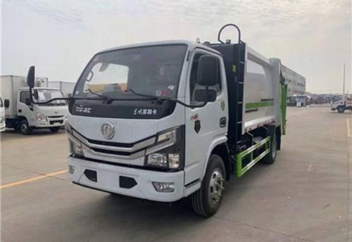 多利卡5方壓縮垃圾車(國六)