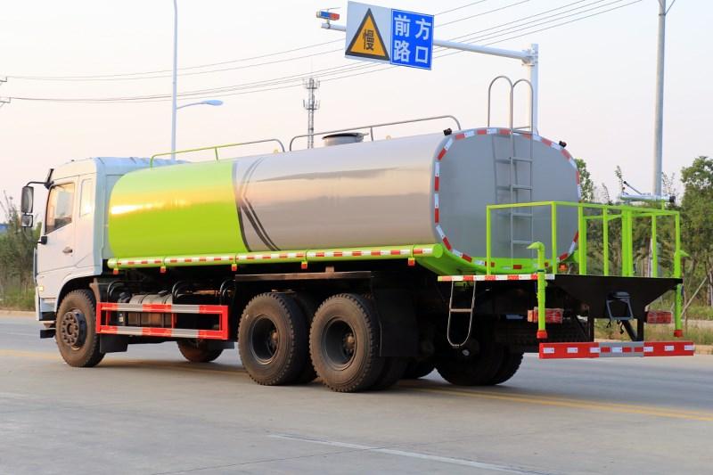 国六东风D3L后八轮 20吨 洒水车