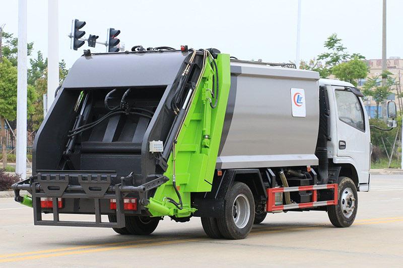 国六小福瑞卡 6方 压缩垃圾车