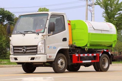 國六 藍牌 凱馬 3-4方 勾臂垃圾車