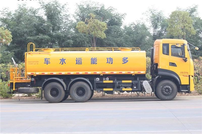 国六东风天龙后八轮 20吨 洒水车