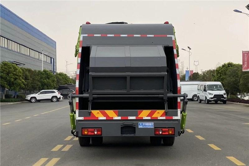 国六东风专底14方 压缩垃圾车