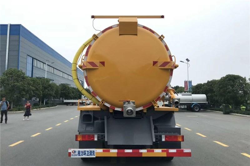 國六東風天龍18方 吸污車